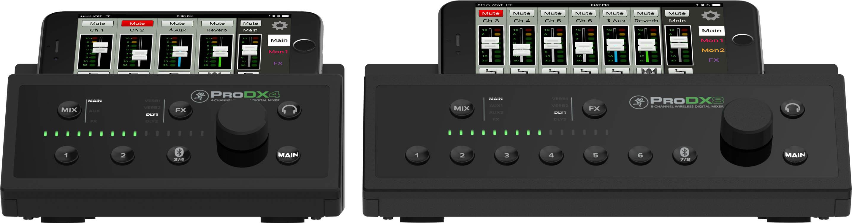 mackie introduces prodx wireless digital mixers mixonline. Black Bedroom Furniture Sets. Home Design Ideas