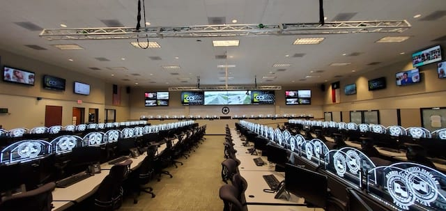CCS Presentation Systems Updates Harris County's  Emergency Operations Center with Visionary Solutions